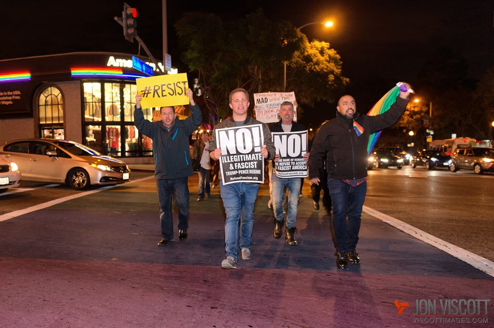 February 2017 WeHo rally - photo credit: jon viscott