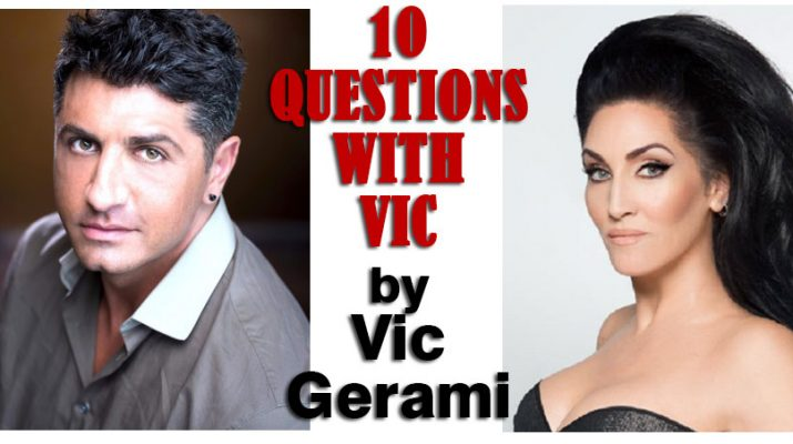 Michelle Visage and Vic Gerami