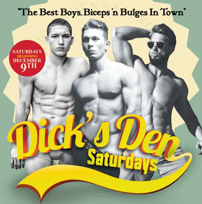 DICK'S DEN Saturdays at FUBAR