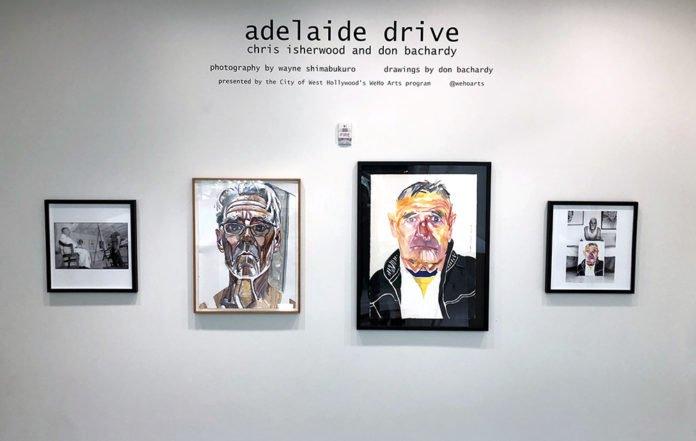 Exhibition Displays Adelaide : Weho art exhibit adelaide drive christopher isherwood and don