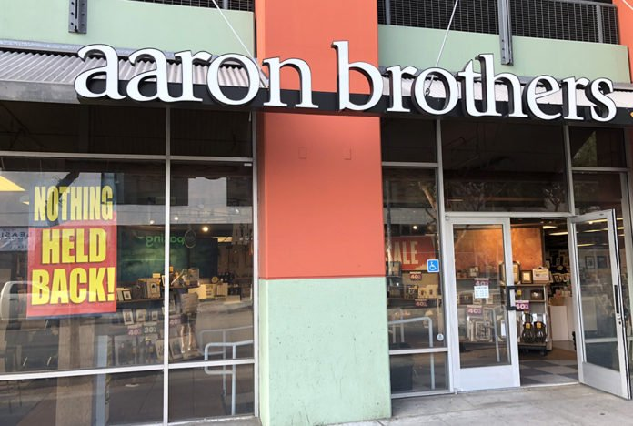 bfa75971d53 Standalone Aaron Brothers frame stores are closing across the nation. That  includes the ...