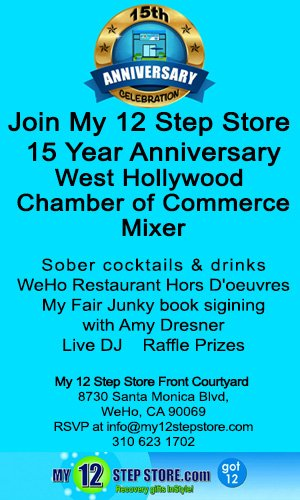 My 12 Step Store 15th Anniversary